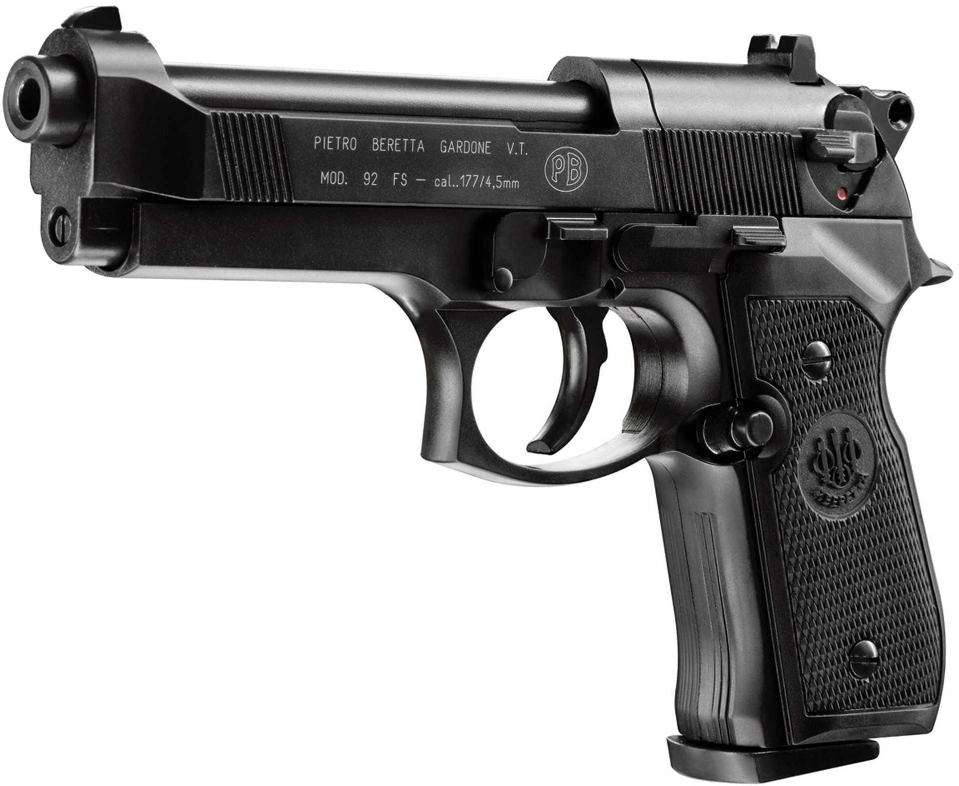 Umarex 8 Shot Beretta 92 .177 Caliber Co2 Pistol Md: 2253000