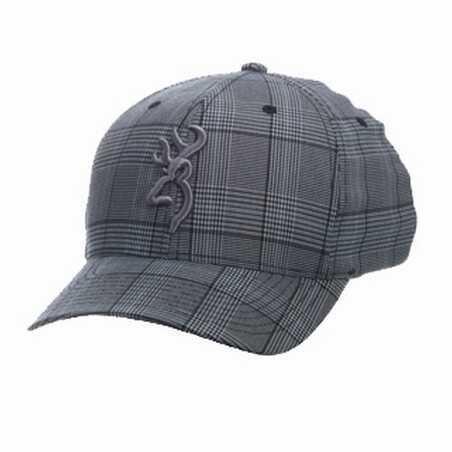 Browning Glenn's Plaid Cap Gray Large/X-Large Md: 308700394