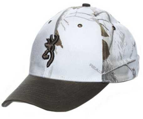 Browning Northfork Twill Hat Realtree Snow Md: 308005271