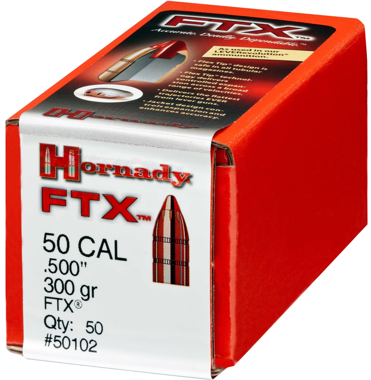 Hornady .500 Cal.500S&W 300 Grain FlexTip Expanding Bullets 50 Per Box Md: 50102