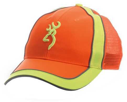 Browning Polson Meshback Cap Blaze/Safety Md: 308134013