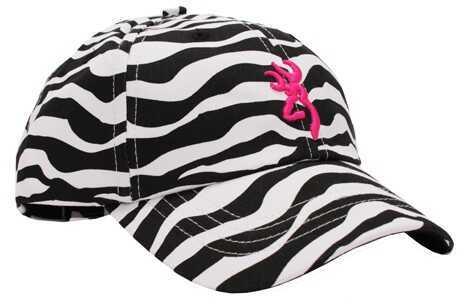 Browning Sahara Zebra/Fuchsia Cap Md: 308343991