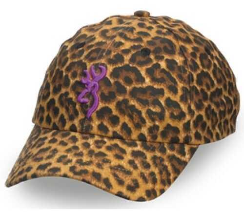 Browning Sahara Leopard/Purple Cap Md: 308343921