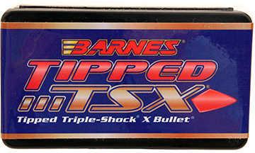 Barnes .243 Caliber 80 Grain Tipped Triple Shock Boattail X Bullet 50/Box Md: 24338