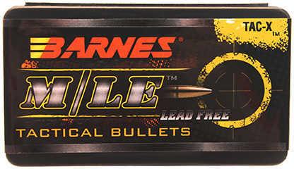 Barnes 6.8 Caliber .277 Diameter 110 Grain TAC XR Boat Tail 50 Count