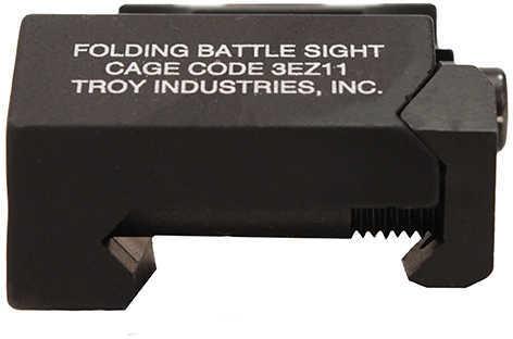 AR-15 Troy Black Rear Folding Battle Sight Md: FBSR0BT00