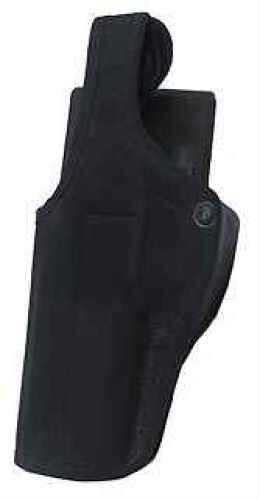 Bianchi 7130 AccuMold SL 3.2.1 Retention Duty Holster Plain Black, Size 13, Left Hand Md: 22475