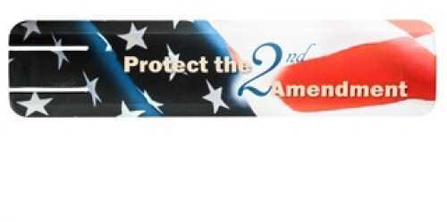 Graphic Full Rail Cover, 2-Piece 2Nd Amendment Md: 4340-2NdAMENd