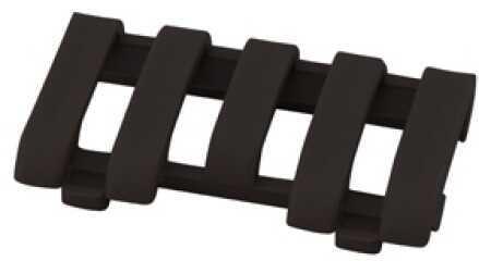 Low Pro 5 Slot Picatinny Rail Wire Loom Black Md: 4380-Bk