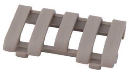 Low Pro 5 Slot Picatinny Rail Wire Loom Flat Dark Earth Md: 4380-De