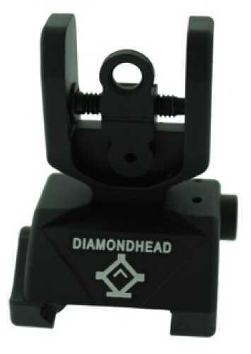 AR-15 Classic Sight Rear Md: 1301 Diamond-Shaped Housing