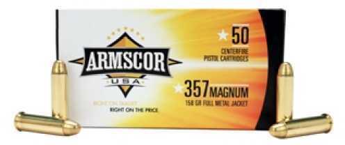 357 Magnum Ammunition 158 Grain FMJ (Per 50) Md: 50071