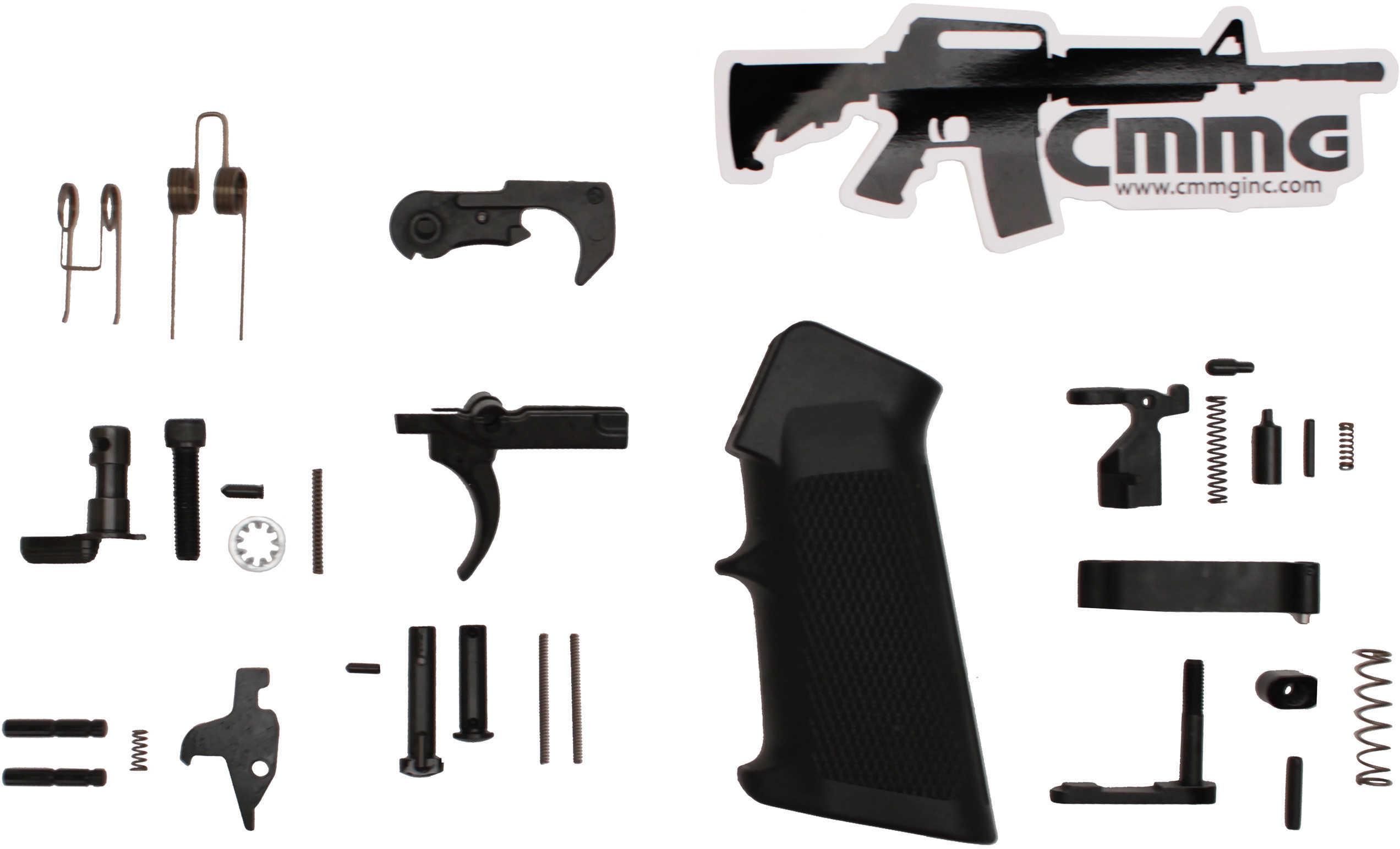CMMG 55CA6C5 Lower Parts Kit AR-15 Mil-Spec Black