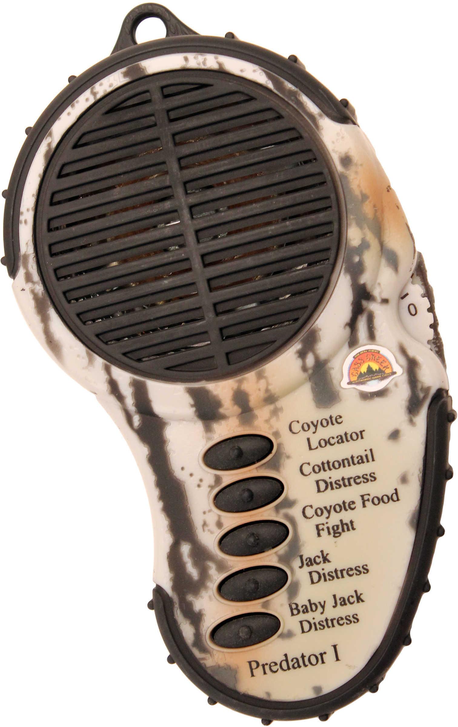Cass Creek Plastic Electronic Predator Call Md: 010