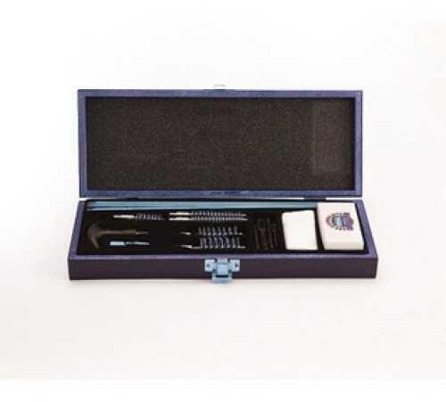 18 Piece Universal Gun Cleaning Kit Wooden Case Md: UGC66W