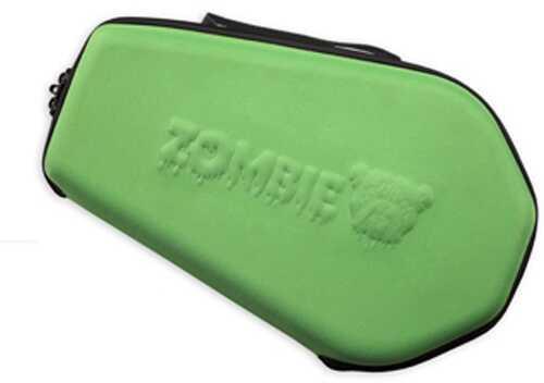 14X9 Molded Nylon Coffin Shaped Pistol Case Zombie Green Md: ZMB-510G