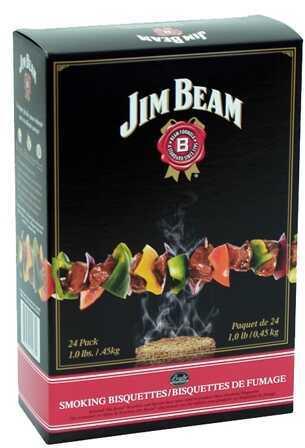 Smoker Bisquettes Jim Beam 24 Pack Md: BTJB24