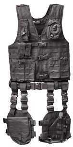 Tactical Vest 10 Piece Combo, Black Md: GM-TVC1