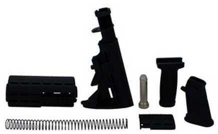 Intrafuse AR-15 Stock Set Black Md: ZSTK09161Blk