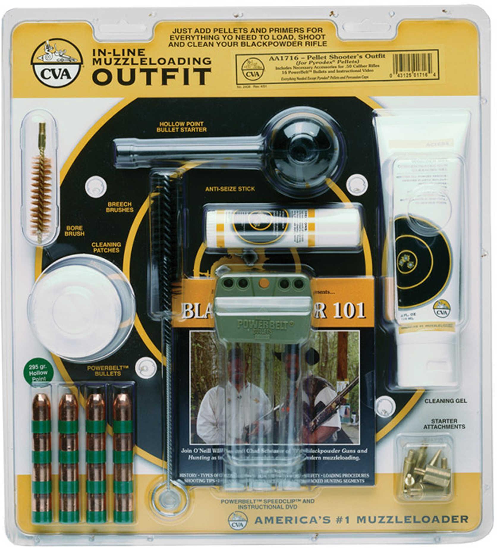 CVA 50 Caliber Muzzleloading Accessory Outfit Pellet