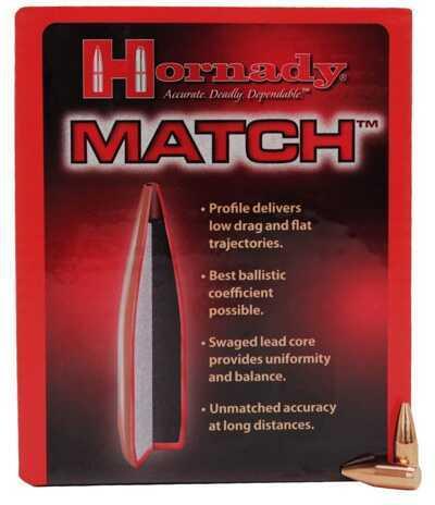 """Hornady 22 Caliber Bullets (.224"""") 52  Grain BTHP Match (Per 500) Md: 22495"""