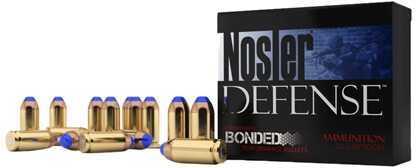 Nosler 9mm Luger +P 124 Grain Bonded Tipped (Per 20) Md: 37151