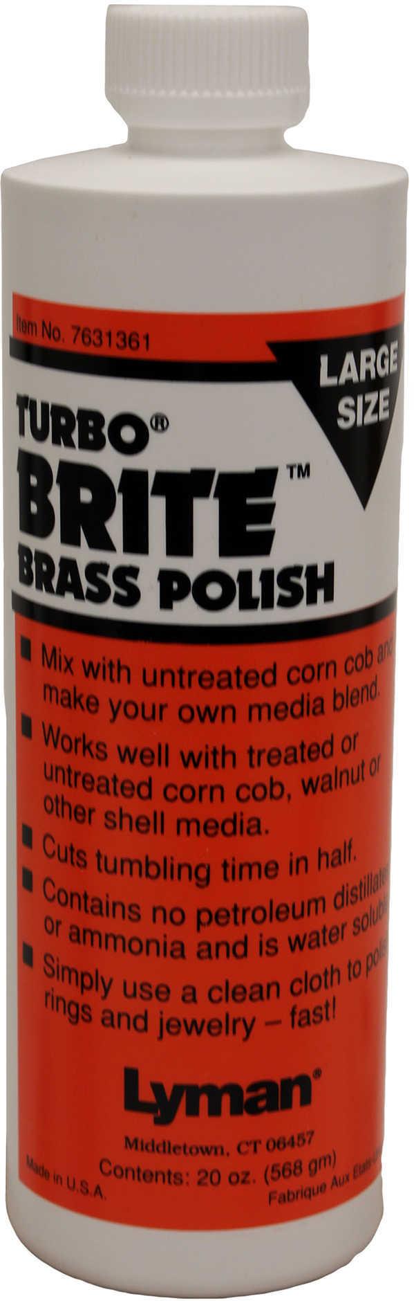 Lyman Turbo Brite Brass Polish 20Oz