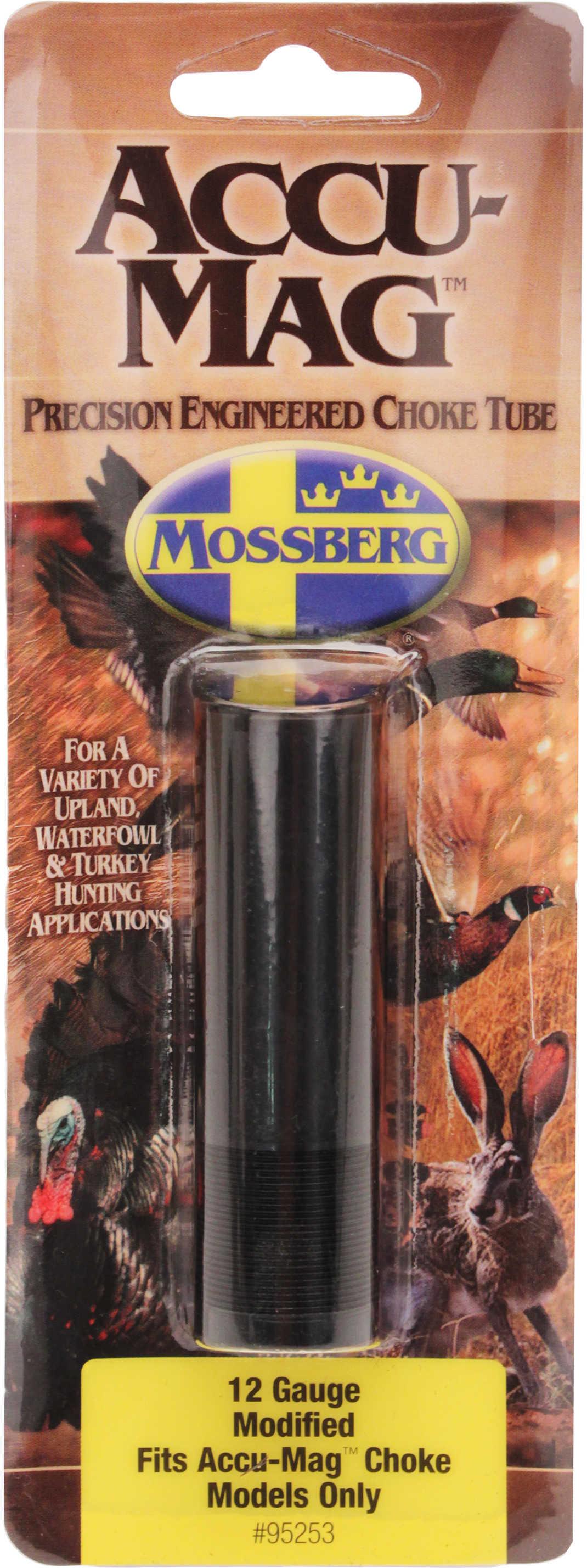 Mossberg Tube #835 12 Gauge Mod LD Mod Steel Shot 2&B