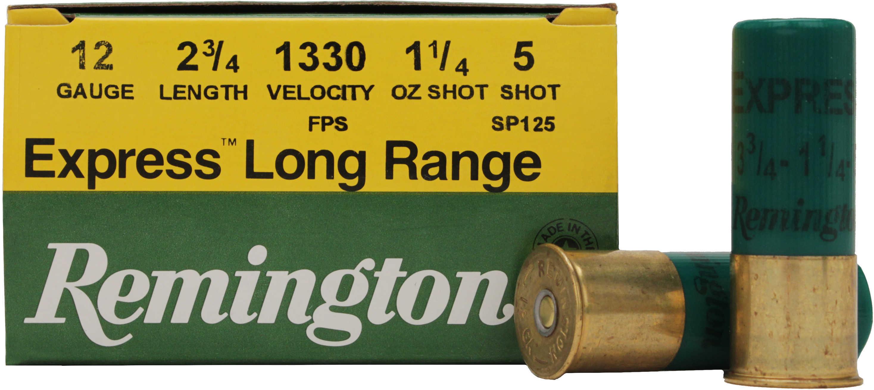 "Remington Express 12 Gauge 2 3/4"" 1 1/4Oz #5 25 Rds Ammunition SP125"