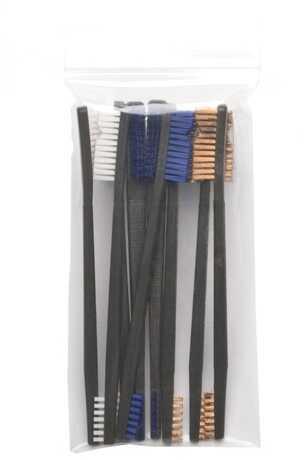 Variety Pack AP Brushes(3 Nylon/3 Blue Nylon/3 Bronze) Model: IP-316-9-BBN