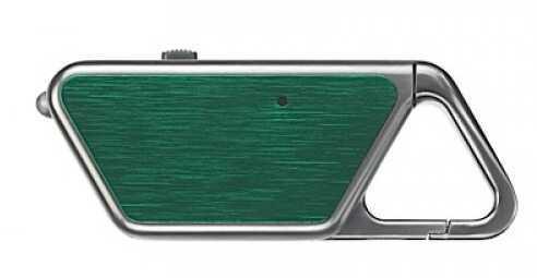 Asp Sapphire USB Rechargeable Light Green Aluminum Md: 53656