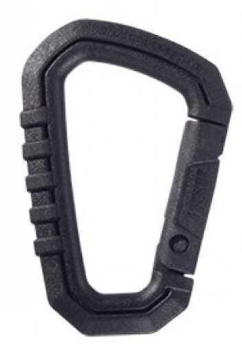 Asp Polymer Carabiner Black Md: 56216