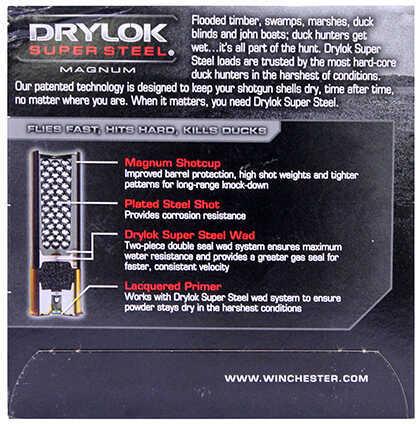 Winchester Super-X Drylok Super Steel Magnum 12 Gauge 25 Rds Ammunition XSM1233