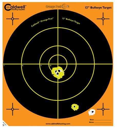 "Caldwell Orange Peel 12"" Bulls-Eye 100 Sheets Md: 121005"