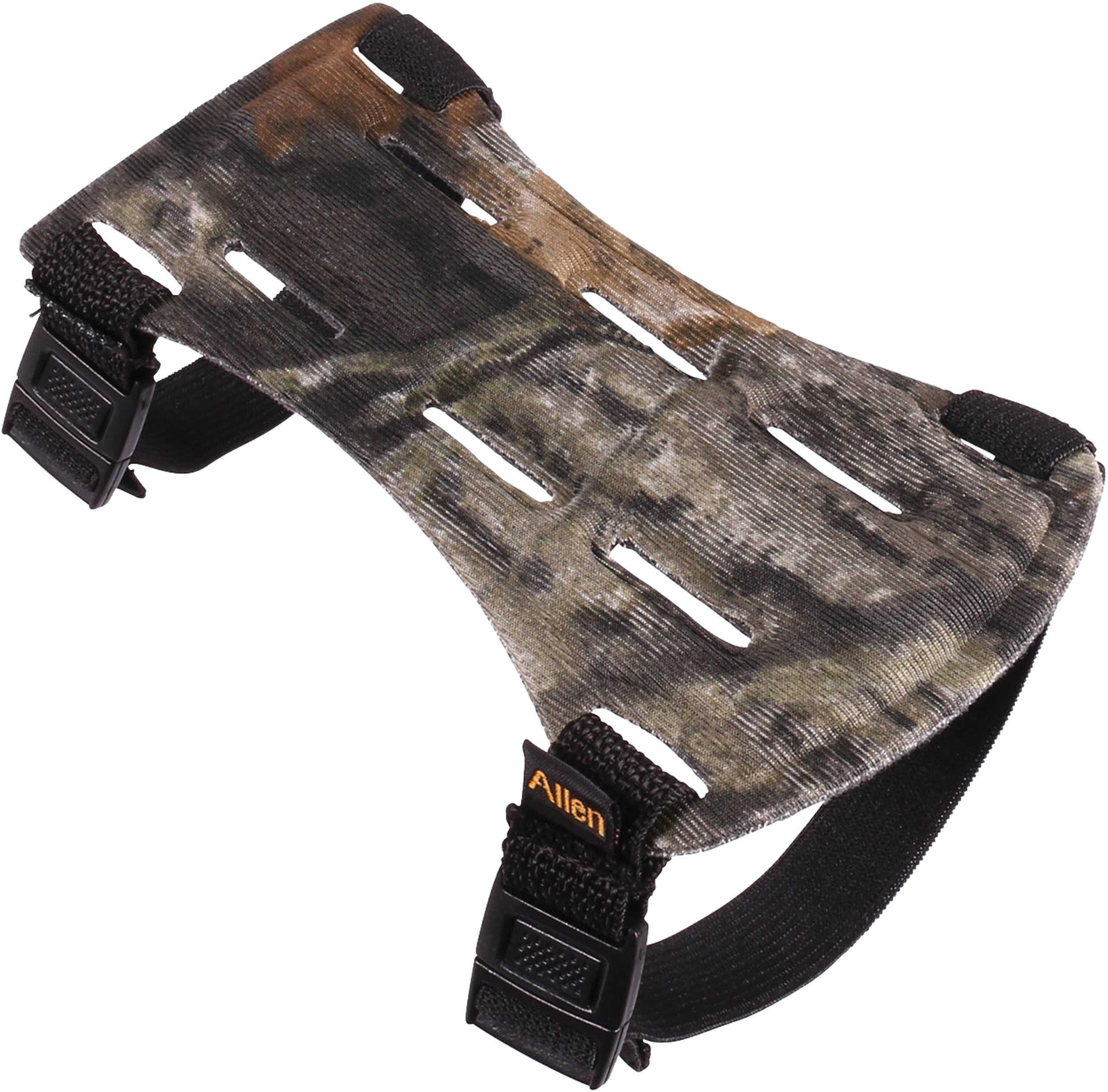 Allen Cases Armguard Saddlecloth Camo 6.5In 2-Strap