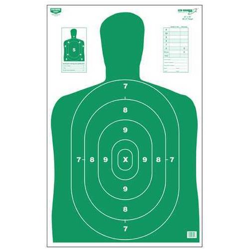 "Birchwood Casey Eze-Scorer Silhouette Green, 23"" x 35,"" 100 Per Pack Md: 37017"