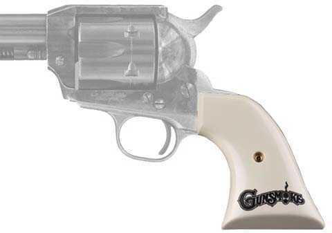 Hogue Colt SA Scrimshaw Ivory Polymer Gunsmoke Md: 50034