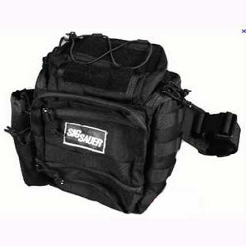Shoulder Pack Tactical, Ambidextrous Black Md: AMBI-Shoulder-Bag-Blk
