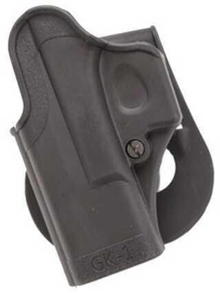 Standard Paddle Holster All for Glock 9mm/40/357 Black, Left Hand Md: HOL-Gk1L