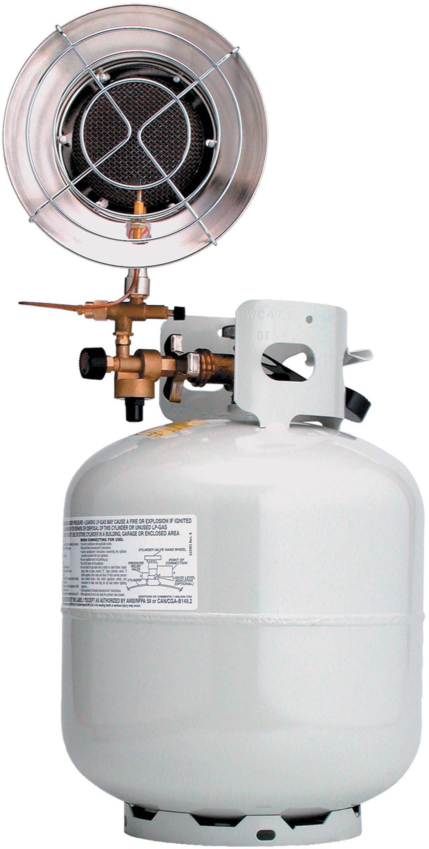 Texsport Propane Heater 10-000 BTUs For Bulk Tank