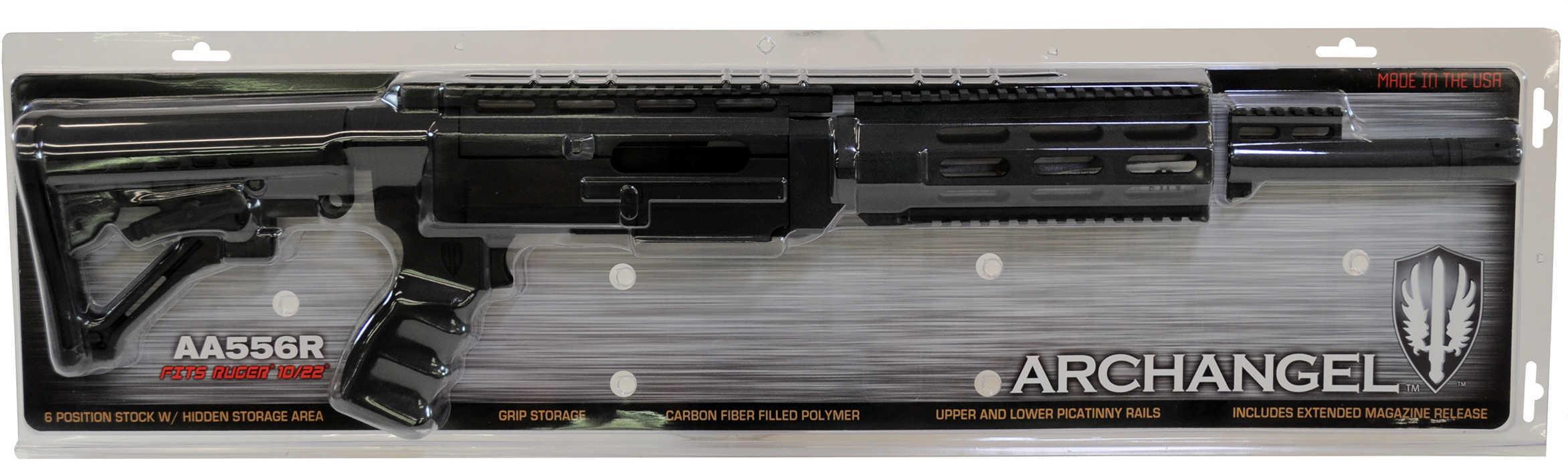 Archangel Ruger® 10/22® Conversion Stock Black, No Bayonet Md: AA556R-Nb