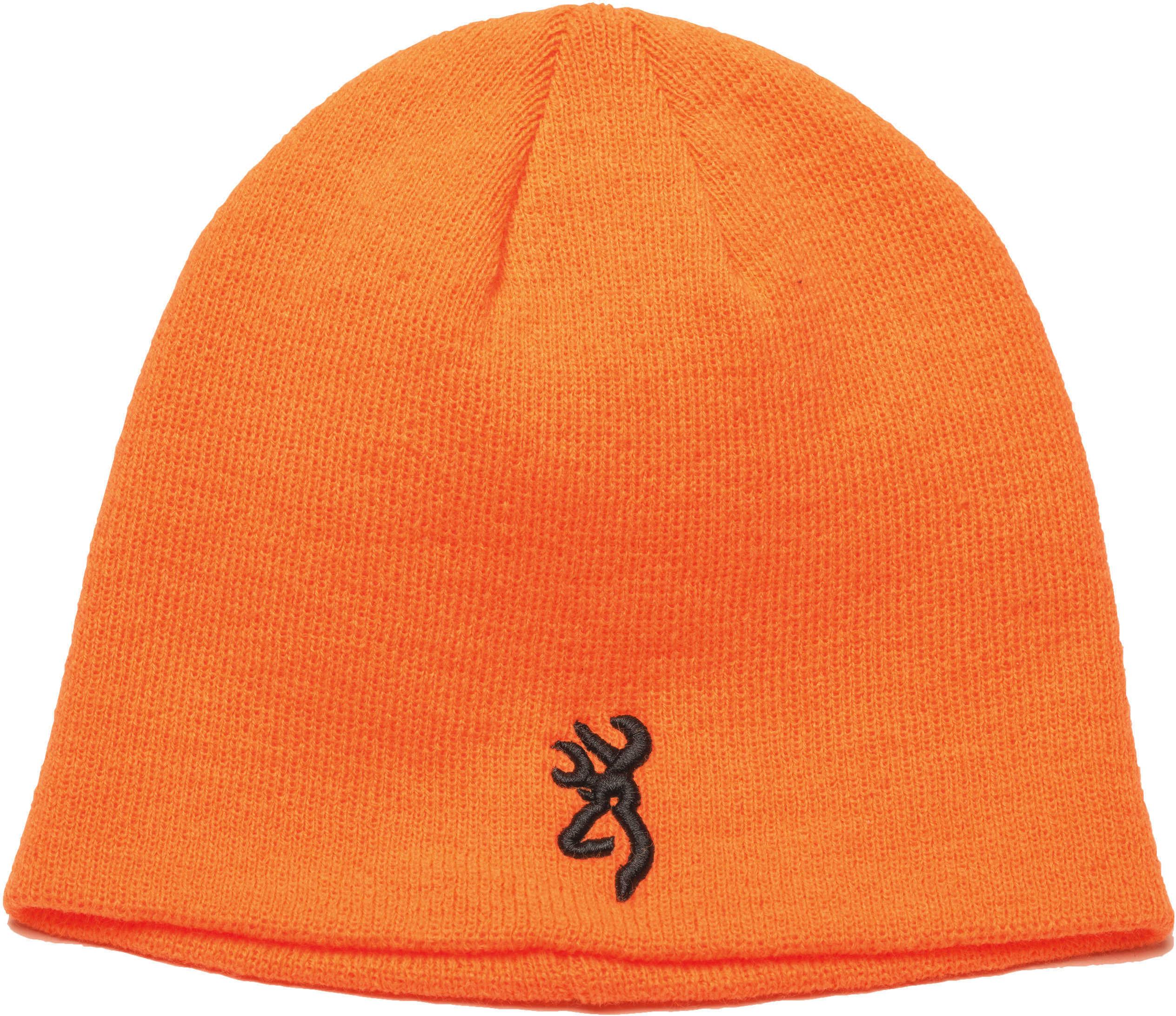 Browning Kenai Knit Beanie Blaze Orange Md: 308509011