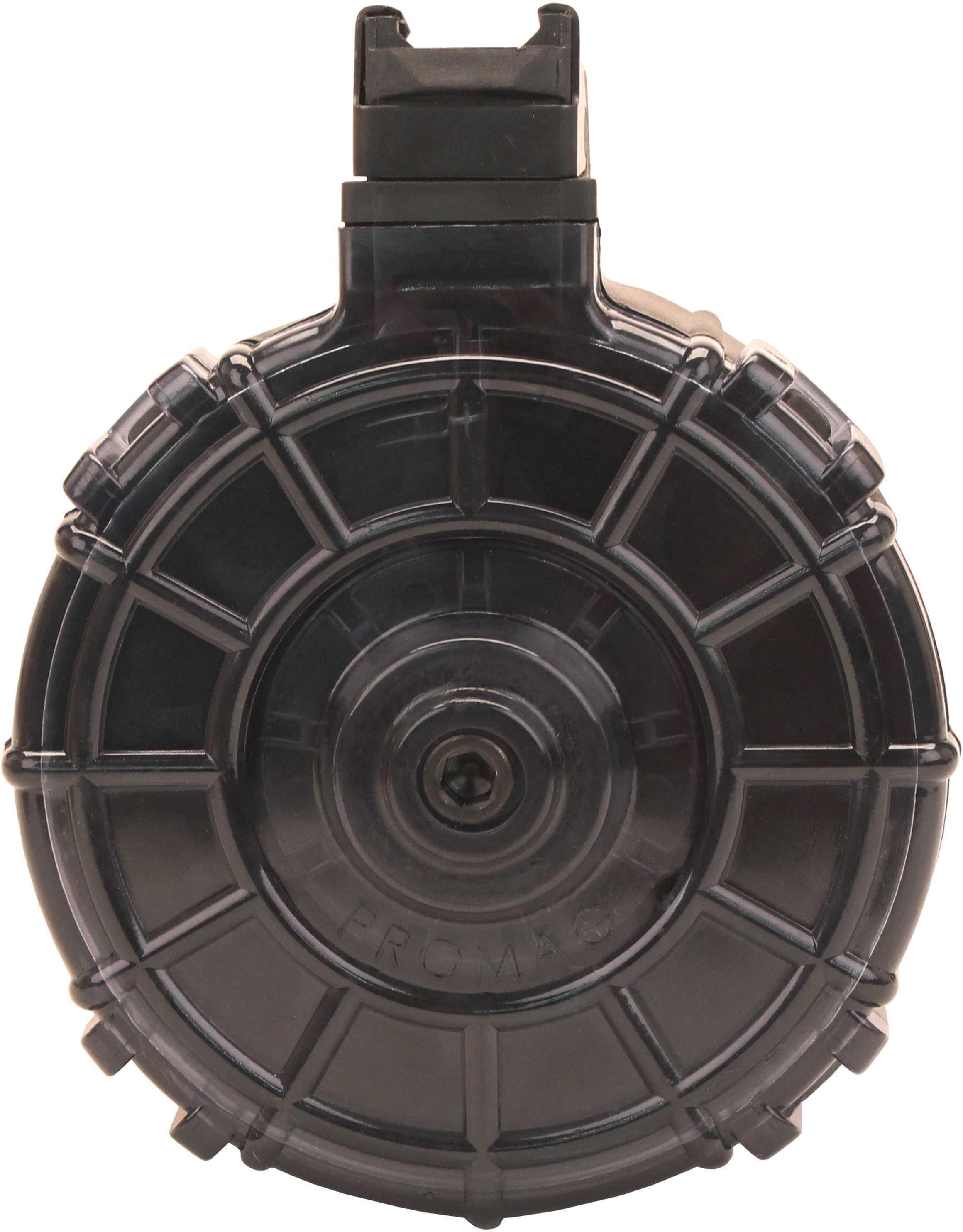 SaiGa 12 Gauge 12 Round Drum Black Md: SAI-A7