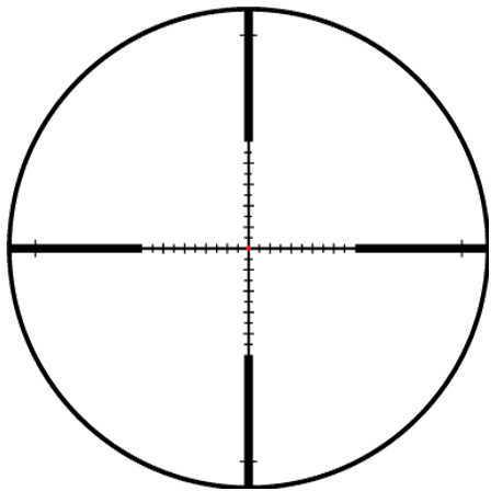 Leupold VX-R Patrol 3-9X40mm, Matte Black Fd TMR Md: 113771