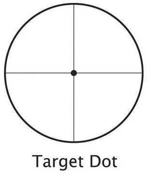 "Varmint Riflescope 6.5-20X50mm Adjustable Objective, 1"" Tube, Target Dot Reticle Md: AC10048"