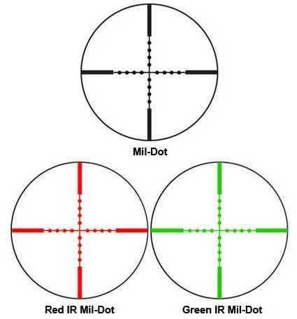 Contour Scope 3-9X42 IR, Mil-Dot Dual Color Md: AC11422