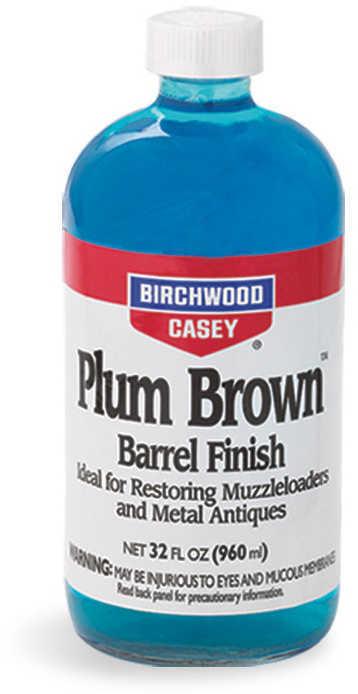 Birchwood Casey Plum Brown Barrel Finish 32 Oz Md: 14145
