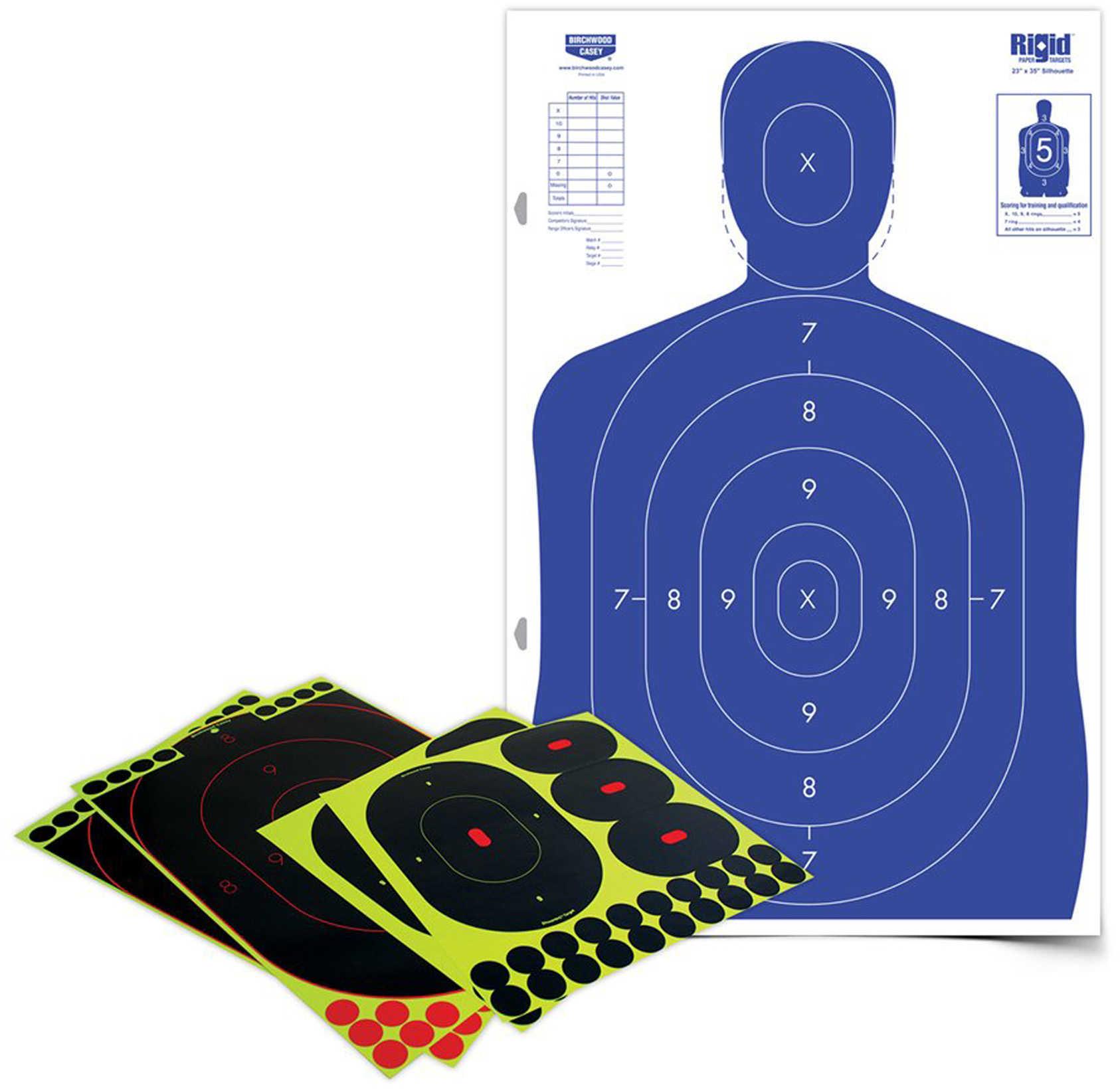 Birchwood Casey 34602 Shoot-N-C Silhouette Target Kit 1 Kit