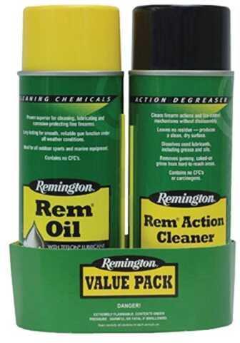 Remington Oil & Remington Action Cleaner, (2) -10 Oz. Md: 18154