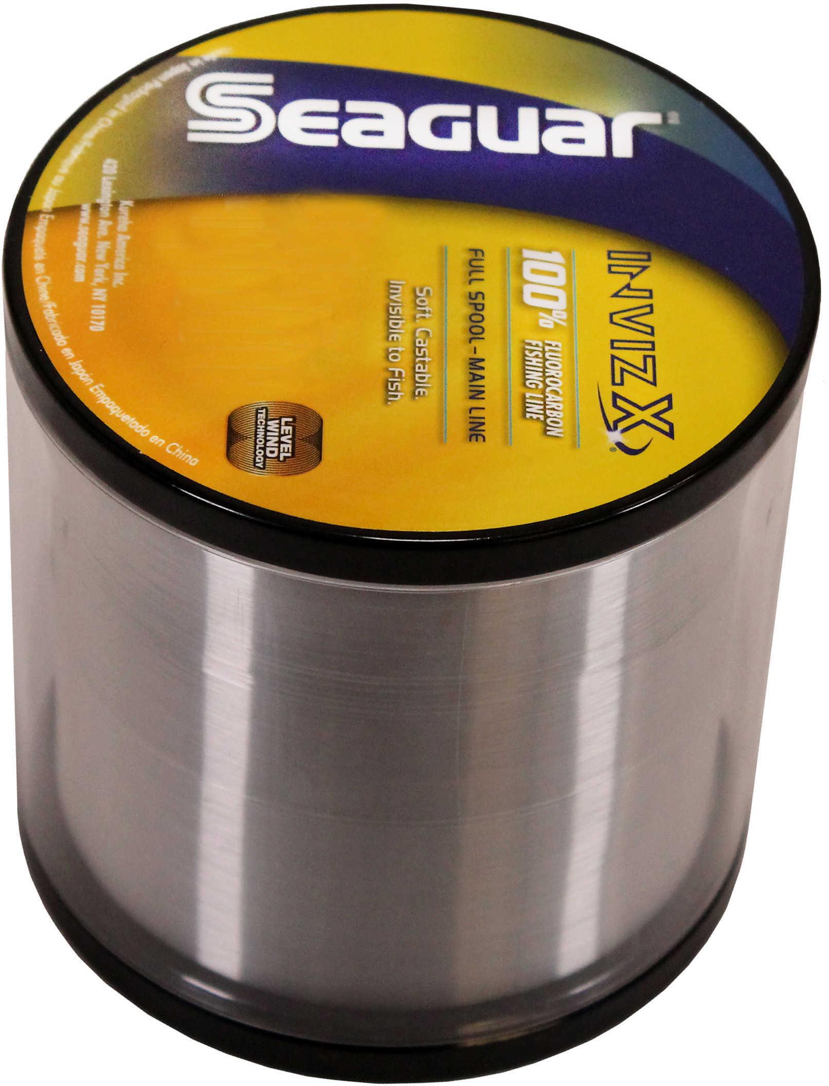 Seaguar Inviz X Fluorcarbon Clear 1000yds 20Lb Md#: 20VZ-1000